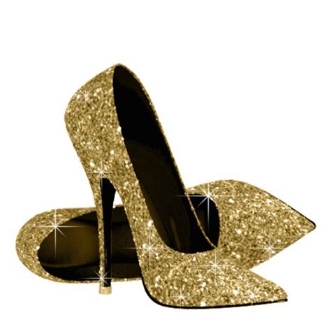 gold sparkly high heels gold glitter high heel shoes cutout zazzle