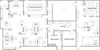 dunder mifflin floor plan the exact floorplan of dunder mifflin