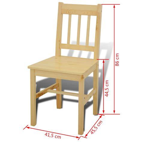 tavolo con 4 sedie tavolo con 4 sedie in legno naturale vidaxl it