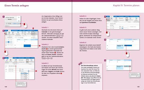 outlook kalender layout outlook 2016 die anleitung in bildern vierfarben