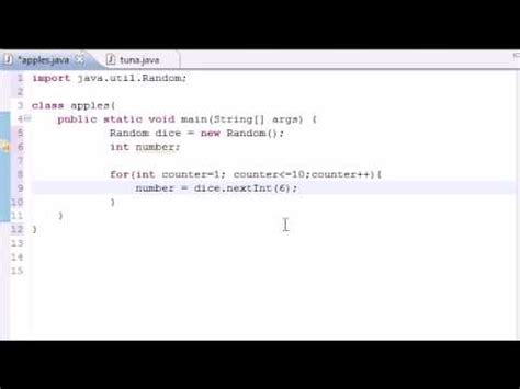 java tutorial random java programming tutorial 26 random number generator