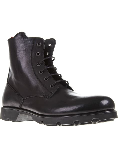 boat shoes vancouver moncler vancouver boot in black for men lyst