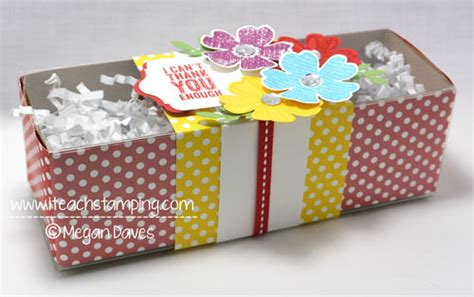 How To Decorate A Box by Creative Gift Packaging I Teach Sting
