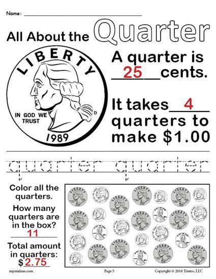 all about coins 4 free printable money worksheets