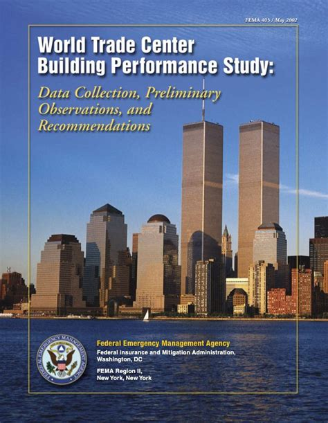 9 11 research books the world trade center attack 9 11 review fema s wtc investigation
