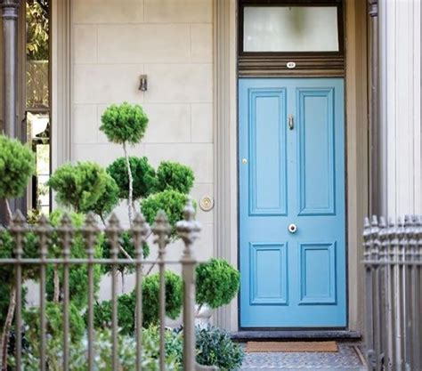 Simplicity Integrity The Victorian Terrace Of An Front Door Melbourne