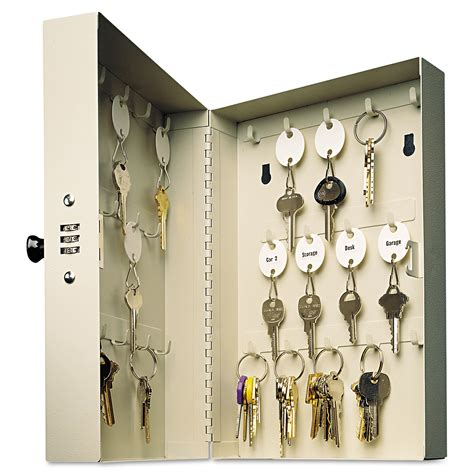 Kitchen Cart With Cabinet combination key lock box by mmf steelmaster mmf201202889