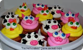 Farm Animal Cupcakes » Home Design 2017