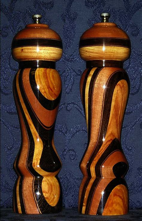 expresso pepper mill design  unique handmade pepper