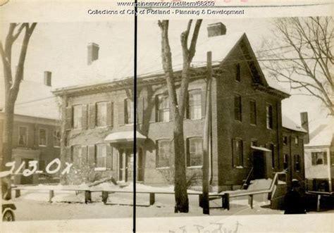 Oxford Houses Portland Oregon by Maine Memory Network 211 213 Oxford Portland 1924