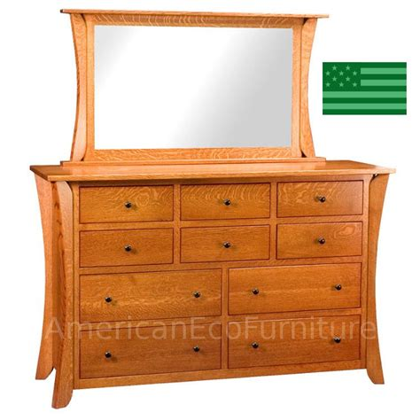 solid wood dresser made in usa amish corsica 10 drawer dresser solid wood made in usa