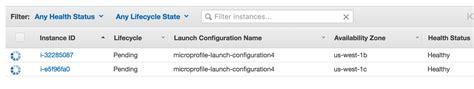 Background Check Pending Status Ec2 Autoscaling Instances Always Show Status As Quot Pending Quot Stack Overflow