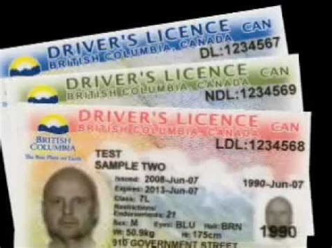 B.C.'s new Driver's Licence and Identification cards.mp4 ... Y Intersection Sign