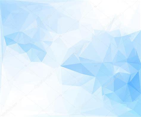 white blue background blue white polygonal mosaic background vector