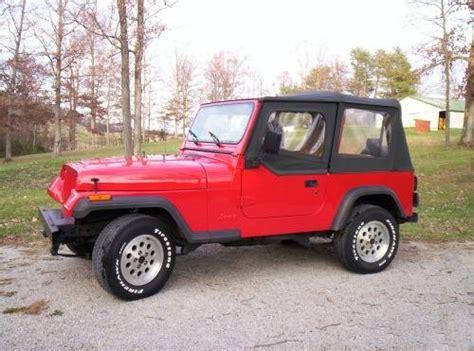 Stock Jeep Wrangler Jeep Wrangler Yj