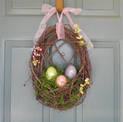 Handmade Easter - 15 diy handmade easter wreaths beautyharmonylife