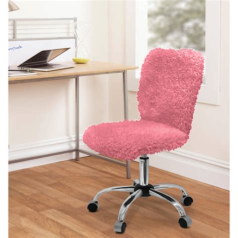 Fuzzy Desk Chair armless task chairs walmart
