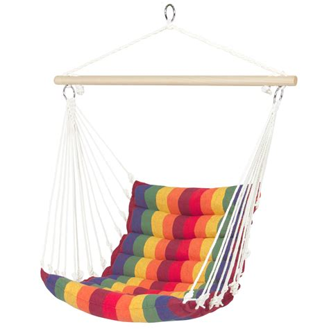Ebay Hammocks by Bcp Deluxe Padded Cotton Hammock Hanging Chair Indoor