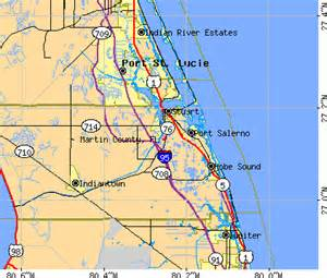 stuart florida zip code map martin fl