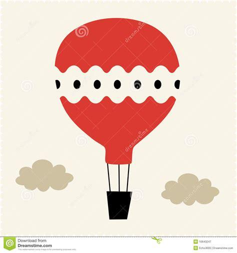 illustrator tutorial hot air balloon hot air balloon vector illustration stock illustration