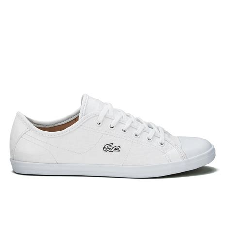 womens lacoste sneakers lacoste s ziane crc trainers white free uk