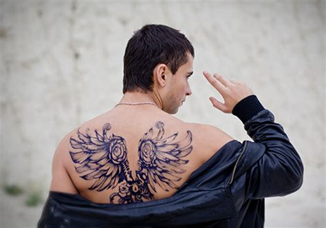 25 magical angel wing tattoo designs creativefan