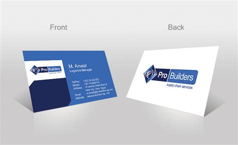 Card Preview pro builders company business card preview by ohmto on