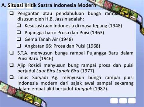 Buku Gema Tanah Air 1 Prosa Dan Puisi 5 teori kritik sastra indonesia modern pada periode kritik sastrawan