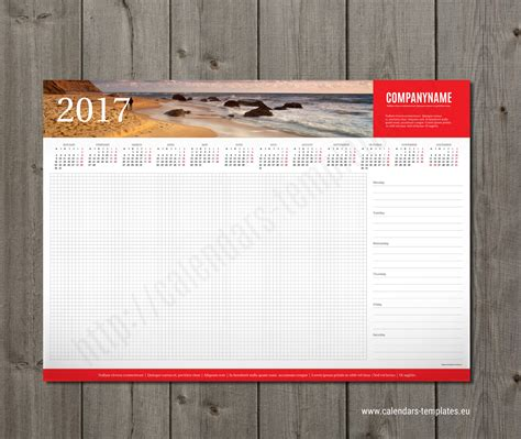desk planner template week desk planner template 2018 with yearly calendar