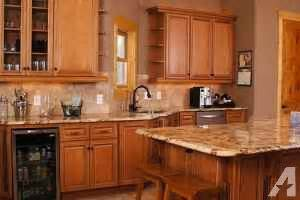 Maple Kitchen Cabinets For Sale Maple Glaze Kitchen Cabinets For Sale In Lincoln