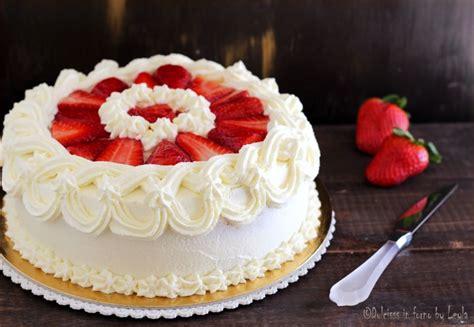 bagna per torte alla fragola torta panna e fragole semplice la ricetta per prepararla