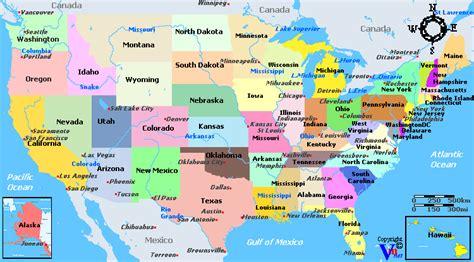virginia map of usa map of america virginia my