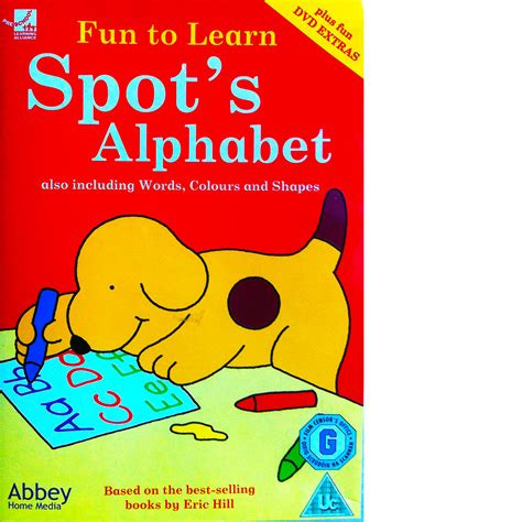 ozzy s learning adventures the alphabet and it s sounds the book that started it all books to learn spot s alphabet dvd book club