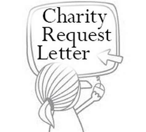 charity open letter charity request letter