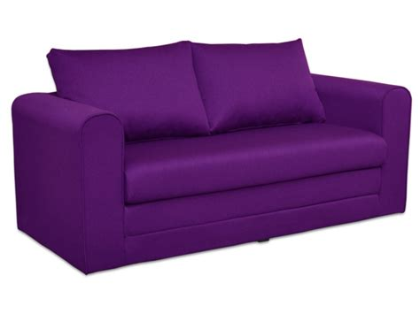 canape mauve canap 233 convertible violet prune achat en ligne