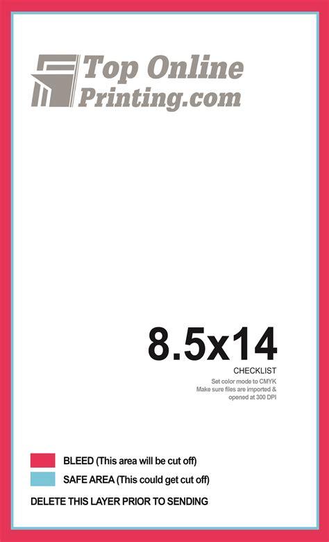 8 5 x 14 brochure template 8 5x14 tri fold brochure printing
