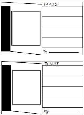 blank trading cards templates classroom freebies trading cards template