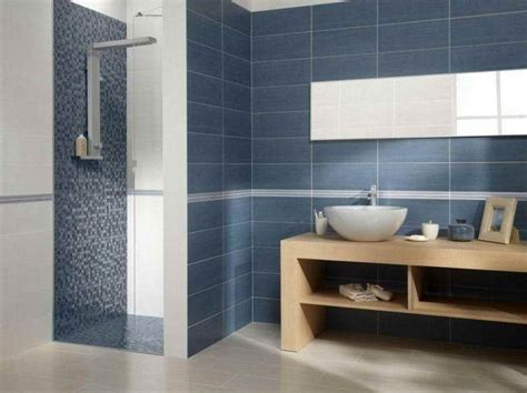 bathroom contemporary bathroom tile design ideas blue