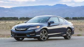 Honda Accord Coupe Review 2017 Honda Accord V6 Coupe Test Drive And Review With