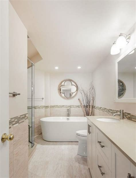 four piece bathroom expansion transitional bathroom