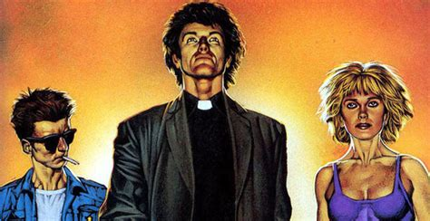 preacher book one graphic novel review