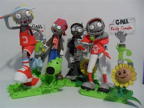 moldes plata vs zombie para muecos de goma eva plants vs zombies arte en foamy 3d fofuchos plants vs