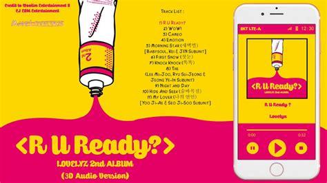 Album Lovelyz R U Ready lovelyz 러블리즈 r u ready 2nd album hd 3d audio version