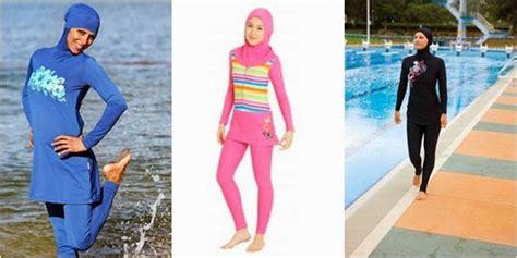 Baju Renang Surfer baju renang muslimah burkini untuk hijabers tutorial