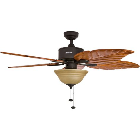Honeywell Ceiling Fan Parts by Honeywell Sabal Palm Ceiling Fan Bronze Finish 52 Inch