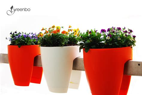 Greenbo Planter by Railing Planter