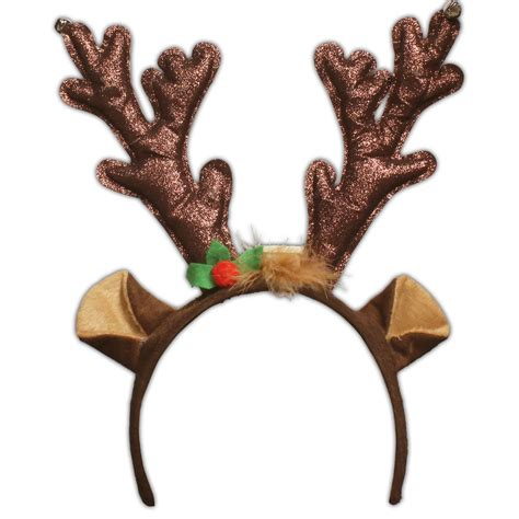 led reindeer antlers christmas holidays events