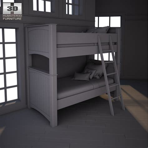 Stages Loft Bed by Stages Bunk Bed 3d Model Hum3d