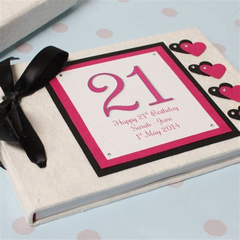 Handmade 21st Birthday Gifts - 21st birthday gifts for 21st presents for
