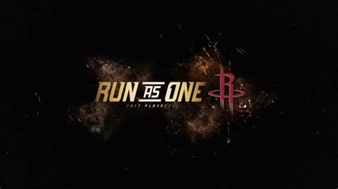 Home Plans Utah Run As One Rockets Vs Thunder Game 1 Hype Houston Rockets